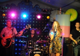 Christa & Band idos live in Switzerland august 2015