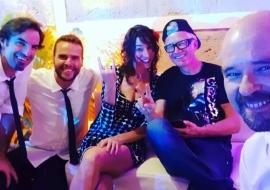 hochzeitsband mallorca - mit DJ Bono / Finca Biniorella 8/2019