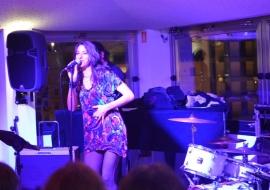 Christa Elmer & Band idos live @ Saratoga juanary 2014