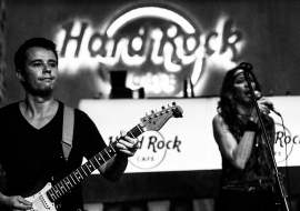 Christa & Band idos live @ Barrocker 2016 Hard Rock Café