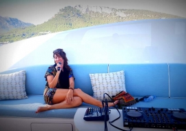 singing on a superyacht with august 2019
